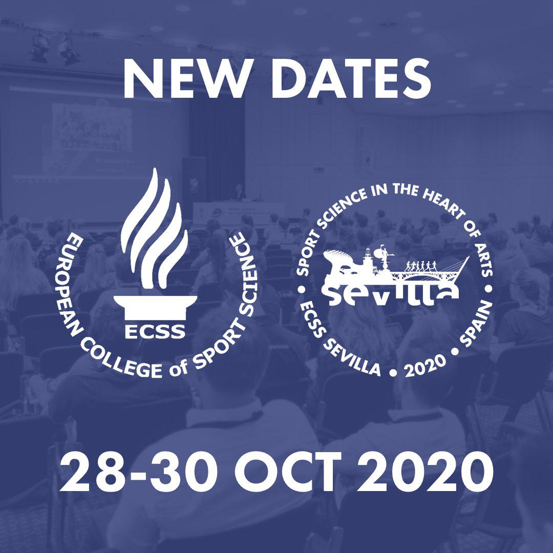 25th Annual Congress of the European College of Sport Science – ECSS Sevilla 2020